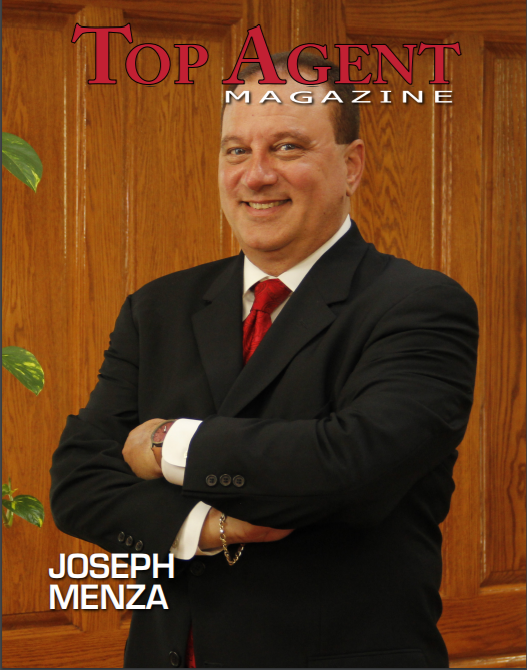 "Cover of ""Top Agent"" magazine"